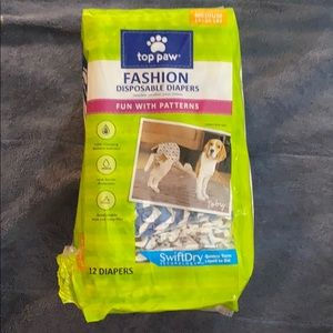 Top Paw Fashion Disposable Diapers